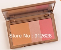6pcs/lot ! Style color makeup 2013 new Flushed Blush 3 Colors ! free shipping !