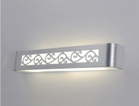high quality fashion carved mirror light  led wall lamps 85-265v 9w led anti-fog light acrylic and aluminum materials
