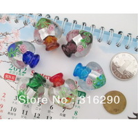 2013 fashion 12pcs/lot new Murano Glass Perfume bottle pendent fashion jewely for lady's free shipping