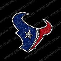 Hot Sale Free DHL Shipping 50Pcs/Lot  Iron On Glitter Motif Hot Fix Rhinestone Heat Transfer Custom Desgin