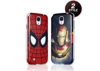 Brand Designer Anime Iron Man Spiderman Led Flash Hard Mobile Phone Cases Cover For Samsung Galaxy S3 SIII i9300 S4 I9500 Skins
