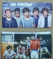8 deisgns one direction pen bags,send by random,1D student penbags free shipping