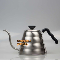 Free shipping 1.2L Stainless steel filter coffee pot filter coffee dripper dripping cafe