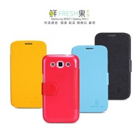 Nillkin Leather case for Samsung GT-I8552 Original colorful high quality Protective cover  I8552 Hot sale in stock