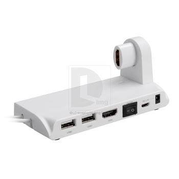 Portale New Measy U2C-D Mini PC Holder 3 USB SD MMC HDMI interface for mini pc tv box 017391 Free Shipping