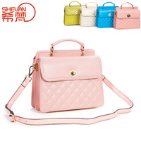 2013 women's genuine leather handbag female casual handbag fashion cowhide shoulder bag messenger bag