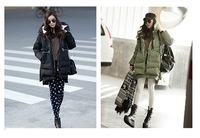 Retail Winter Women Long down jacket high quality casual personality free shipping in stock