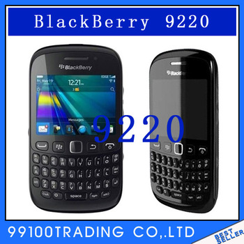 Unlocked BlackBerry Curve 9220 Wi-Fi QWERTY Valid PIN+IMEI 3G Phone Free Shipping