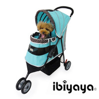 Limited edition ibiyaya pet stroller cat dog cart fs1101 tianlan unpick and wash folding