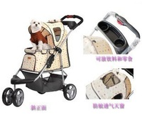 Dog ibiyaya cart vip teddy trolley carry bo folding fs701 unpick and wash
