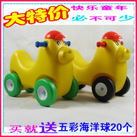 Rollaround horse amusement equipment jumping horse series of the dog small cart toy