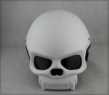 skull motorcycle helmet promotion