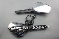 Motorcycle Universal Skeletal hand Black Skull Skeleton Mirrors for all Honda Cruiser Bikes Models