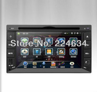 Hot-sale New Universal 6.2'' HD Touch Screen Car DVD Player with BT+AM/FM+GPS Navigation+IPOD+Wince 6.0