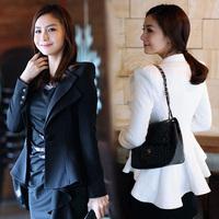 High quality 2014 spring and autumn short jacket women formal blazer ol slim elegant tuxedo