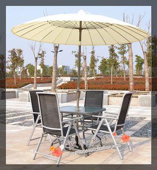 24 2.5 meters steel wire umbrella in the column outdoor furniture garden umbrella outdoor umbrella sun protection umbrella elbow