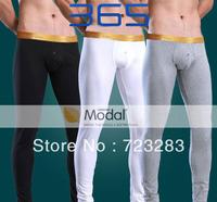 New Modal fabric Men's thermal underwear pants-long john pants for men(Size:M L XL)-Free shipping U5641