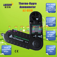 Anemometer  AZ-8918 Mini Wind speed Meter with Freeshipping