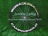 2013 New 3D effect Dark Label G3 Geometry Green Campagnolo Bora ULTRA Two 50mm 700C Clincher carbon bicycle wheelset