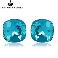 V . q austria crystal stud earring female anti-allergic accessories fashion vintage fashion