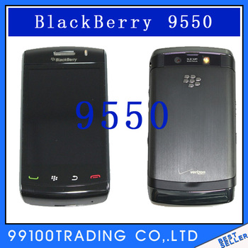 Original Unlocked BlackBerry Storm2 9550 Cell Phone 3G GPS WIFI Free Shipping Refurbished