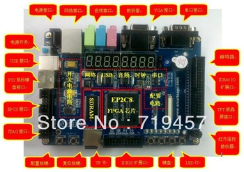 FREE SHIPPING Be2 altera fpga niosii development board usb blaster ep2c8 de2-mini