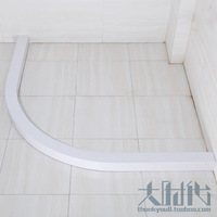 Curviplanar water bar skirt thickening water 96 shower curtain rod