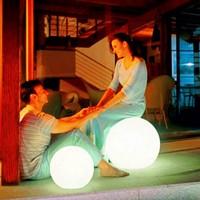 Bedroom lamp bed-lighting fashion bedside table lamp luminous led round ball globe lamp waterproof ball