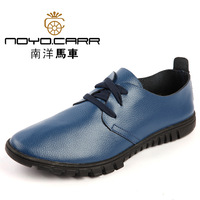 Low genuine leather cowhide leather spring popular men's the trend of casual handmade leather fashion breathable