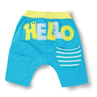 2013 child bright color casual shorts