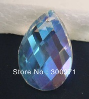 Free shipping  ab color 38x22mm(360pcs/lot ),crystal chandelier pendants/crystal curtain pendants
