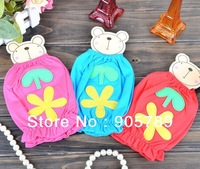 3 Colors Children Oversleeve Baby Flower Sleevelet Cotton Sleeves Cuff