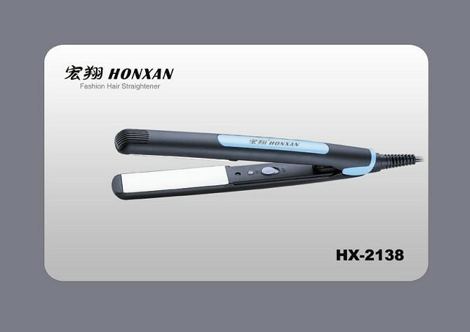 Hair straightener ceramic plates negative ion thermostat electric splint straight hair straightener(China (Mainland))