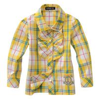 Fall 2013 new girls long-sleeved shirt  12A14