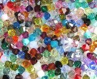 4mm crystal Spacer Bead/Beads/Arylic beads/Crystal shape plastic bead 10000PCS