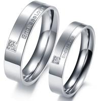 2014  popular Accessoires juwelen  fashion mode exquisite titanium Ringen vrouwen mensen  liefhebbers ring gj243