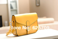 Free Shipping New fashion satchel bags for women shoulder bags cross body leather handbag lady 5 color available