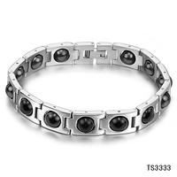 2014 fashionable bracelets jewelry belt magnetic anti fatigue energy bracelet  gs3333 hombres pulsera wholesale