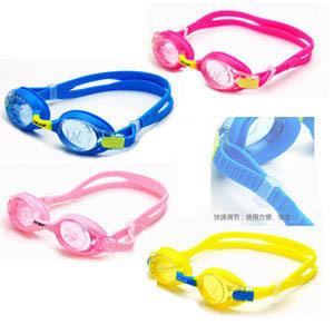 Silica gel goggles child goggles male female child child cartoon waterproof anti-fog swimming goggles