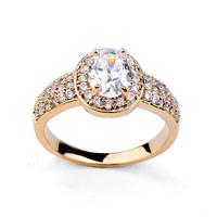 Ювелирное изделие 100% Austria Crystal Rose Gold Plated Bangles Rhinestone Bracelet
