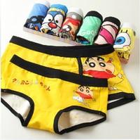 Painted Printing Cartoon Underwear ,Girls Boxer Briefs Teenagers Bodyshort Panties,Cotton Underwear For Women