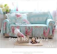 Cotton fabric sofa cover cloth towel Luo Mansha full cotton free shipping & Luxury Jacquard Sofa cover 200cm*200cm