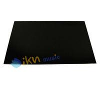 1 Guitar Bass Pickguard Blank Material Total Black 3Ply Pickguard Sheet 29x43cm