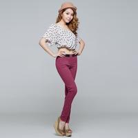 2014 New Arrival Women's Fashion Spring&Autumn Plus Size XXL skinny pencil Boots pants slim Legginggs,Free Shipping