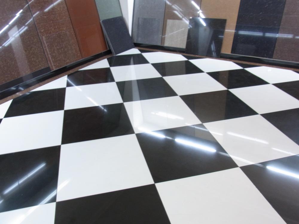 Online kopen wholesale witte vloertegel uit china witte vloertegel groothandel - Vinyl imitatie tegel ...