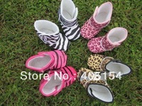 "40pairs/lot 3.75""/4""/4.25"" size zebra Baby snow boots,leopard baby boots,baby shoes,infant shoes"