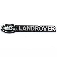 Free shipping 10pcs/lot High quality 3DLandrover power and Toyota car logo sticker Aluminum alloy Car Mental Sticker