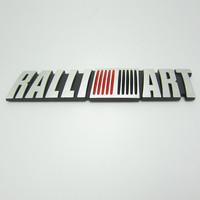 Free shipping 10pcs/lot High quality 3D RALLIABT power and sports car logo sticker Aluminum alloy Car Mental Sticker