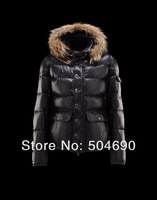 Men's Hooded Down Jacket Warm Fur Collar Down Parkas Men's Jackets Goose Down Coat Fashion New Style Winter Jacket Size XS - XXL
