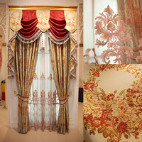 Luxury yarn quality finished product window curtain airland